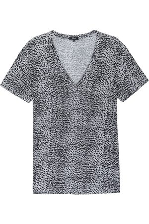 Rails Cara V Neck T Shirt - Heather Lynx