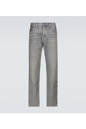 Tom Ford Tapered-fit selvedge jeans