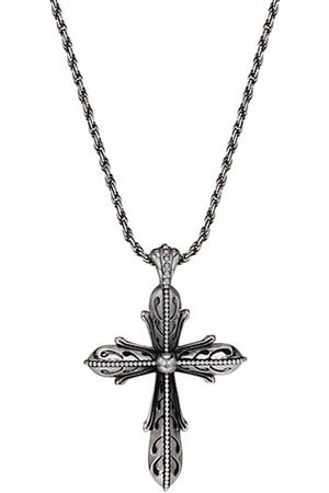 EMANUELE BICOCCHI Men Necklaces - Sterling Silver Cross Pendant Necklace