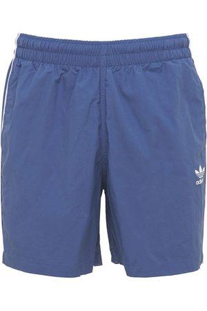 adidas Men Swim Shorts - Primegreen 3-stripe Tech Swim Shorts