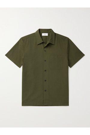 Mr P. Cotton-Seersucker Shirt