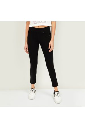 Xpose Women Solid Skinny Fit Jeggings