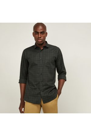 Allen Solly Men Checked Slim Fit Casual Shirt