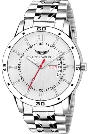 LOIS CARON Men White Analogue Watch