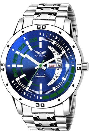 LOIS CARON Men Blue Analogue Watch