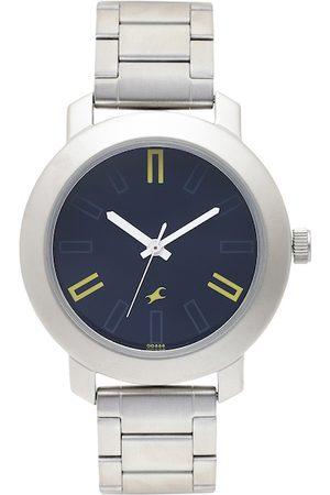 Fastrack Men Watches - Men Black Dial Watch 3120SM02