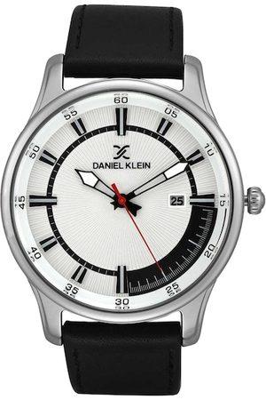 Daniel Klein Men Silver-Toned Analogue Watch DK12232-1