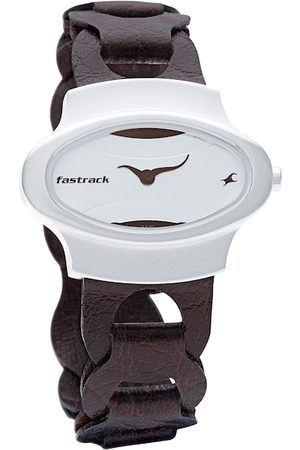 Fastrack Women White Dial Watch NF6004SL01
