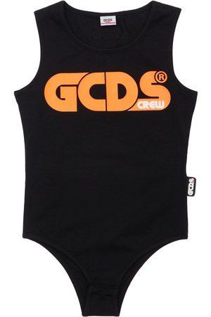 GCDS Girls Bodysuits & All-In-Ones - Jersey Stretch Bodysuit