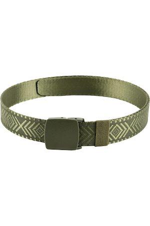 WINSOME DEAL Men Green Textured Belt