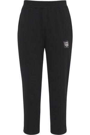 Opening Ceremony Men Sports Trousers - Warped Logo Cotton Jersey Sweatpants