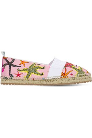 VERSACE Girls Casual Shoes - Printed Espadrilles