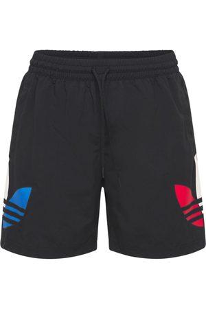adidas Men Swim Shorts - Primegreen Tricolor Trefoil Swim Shorts
