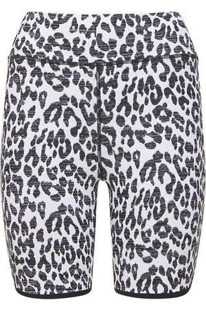 The Upside Women Shorts - Snow Leopard Shorts