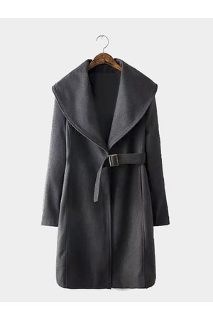YOINS Waterfall Coat with Belt