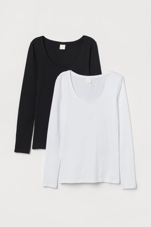H & M 2-pack jersey tops