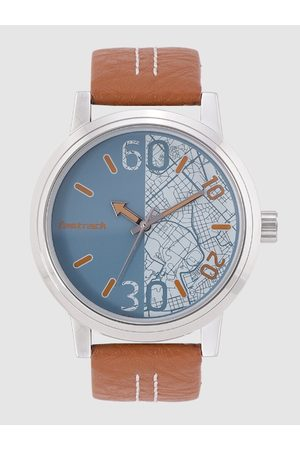Fastrack Men Blue Printed Analogue Watch 3199SL01