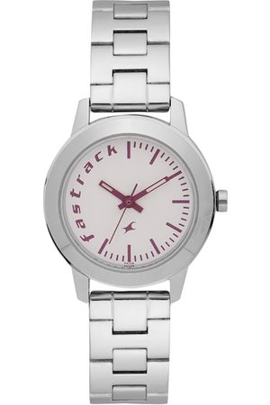 Fastrack Women Watches - Women White Analogue Watch 68008SM01_OR
