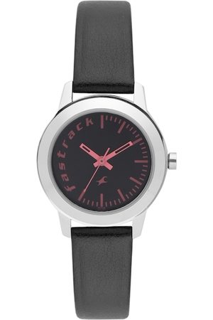 Fastrack Women Black Analogue Watch 68008SL02_OR