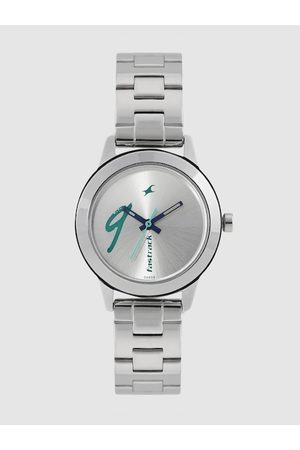 Fastrack Women Silver-Toned Analogue Watch 68008SM05