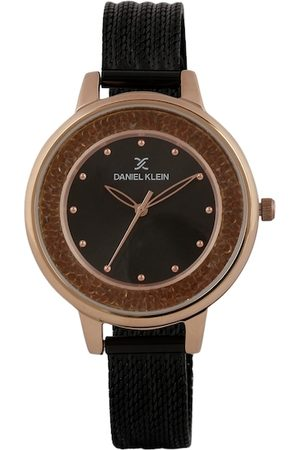 Daniel Klein Men Black Analogue Watch DK.1.12404-7