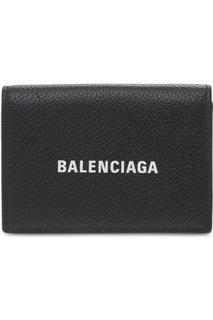 BALENCIAGA Logo Leather Wallet