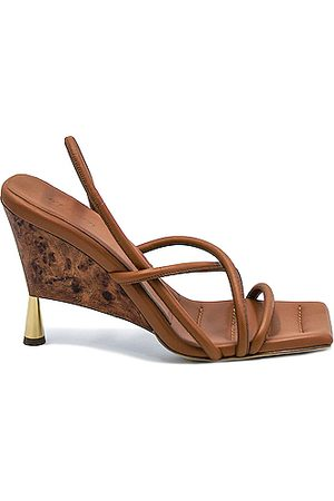 GIA/RHW Strappy Sandal in Rustic