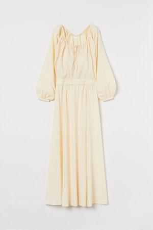 H & M Women Dresses - Long lyocell-blend dress