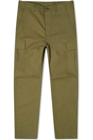 ORSLOW Men Cargo Trousers - 6 Pocket Cargo Pant