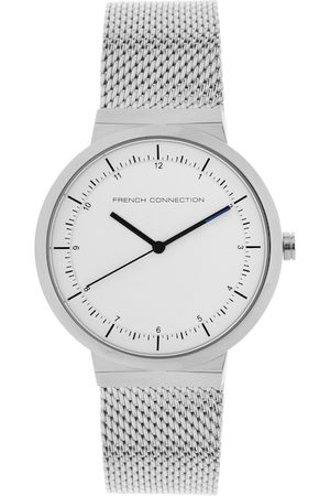 French Connection Men Silver-Toned Analogue Watch