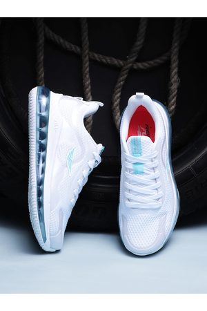 Red Tape Women White Mesh Walking Shoes