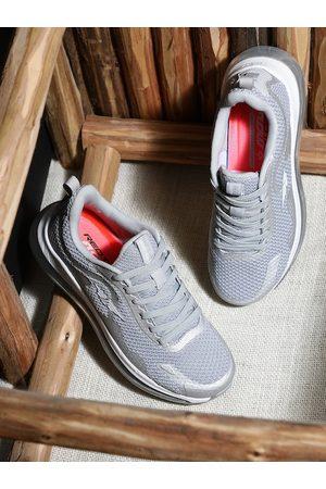 Red Tape Women Grey Melange Mesh Walking Shoes