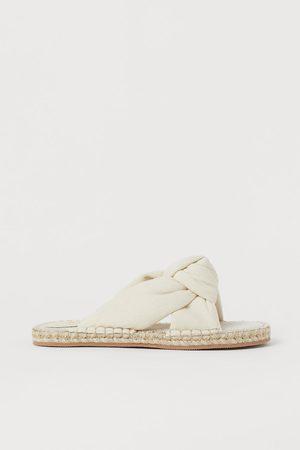 H&M Women Platform Sandals - Knot-detail sandals