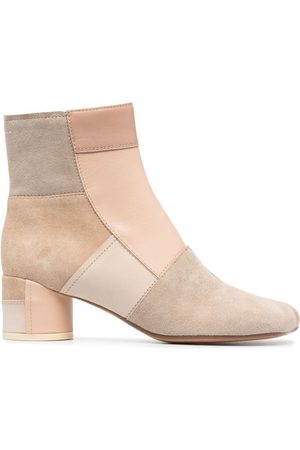 MM6 MAISON MARGIELA Women Ankle Boots - Panelled ankle boots