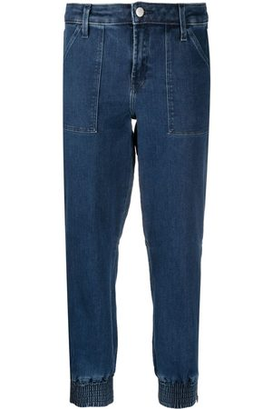 J Brand Women Tapered - Cropped tapered jeans