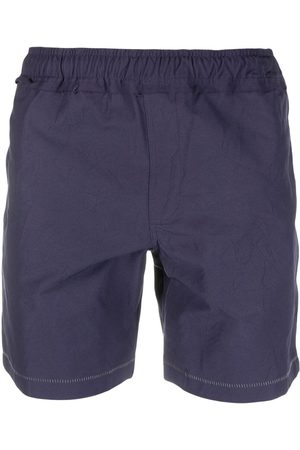 Ader Error Men Sports Shorts - Contrast-stitching track shorts