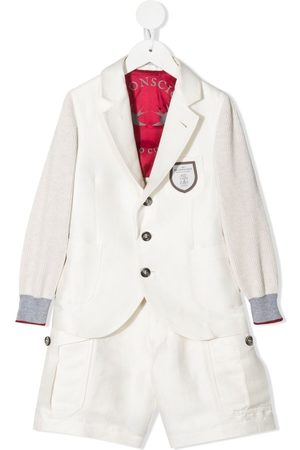 Brunello Cucinelli Boys Suits - Single-breasted two-piece suit