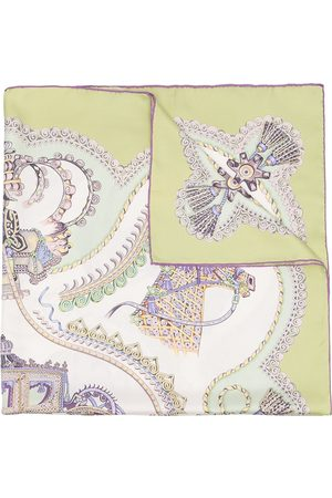 Hermès Women Scarves - Pre-owned Paperoles square scarf