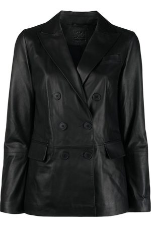 DESA 1972 Women Leather Jackets - Double-breasted leather jacket