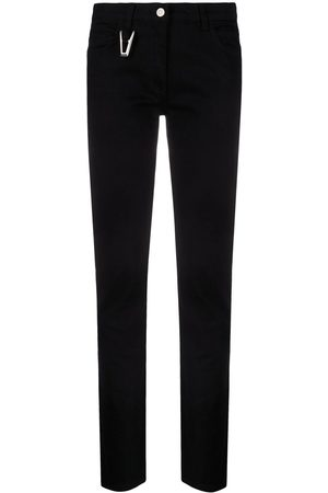 1017 ALYX 9SM Women Slim - Ring-detail slim-fit jeans