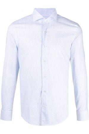 FEDELI Men Long Sleeve - Stripe-print shirt