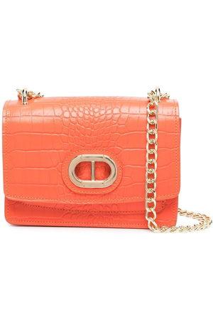 DEE OCLEPPO Women Shoulder Bags - Crocodile effect shoulder bag