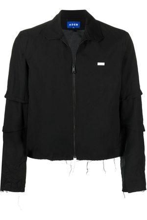 Ader Error Logo-patch zip-up jacket