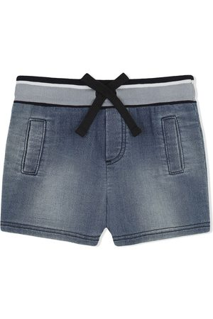 Dolce & Gabbana Logo-patch denim shorts