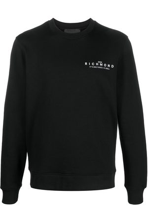 John Richmond Logo-embellished sweatshirt