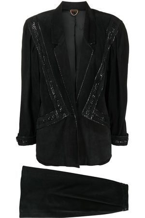 A.N.G.E.L.O. Vintage Cult Women Suits - 1980s single-breasted skirt suit