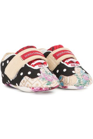 Dolce & Gabbana Sneakers - Mixed-print sneakers