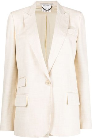 Stella McCartney Women Blazers - Single-breasted peak-lapel blazer