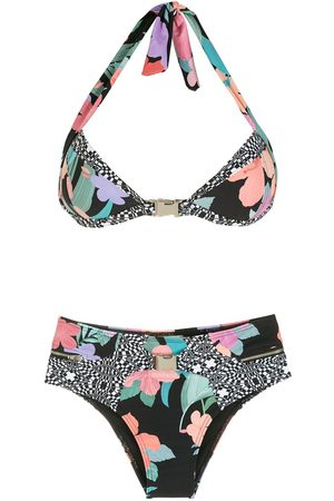 AMIR SLAMA Women Sets - Print Hibiscus bikini set