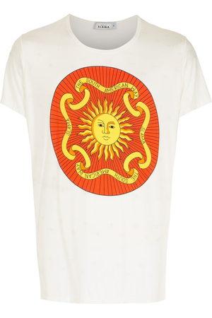 AMIR SLAMA Men Short Sleeve - Print Sol T-shirt
